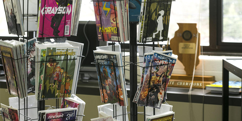 Comics in the classroom: An interview with comics teacher Eric Kallenborn