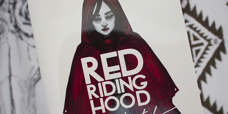 Cover for Red Riding Hood Illustrated, by Zoe Lovatt
